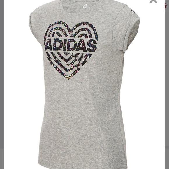 girls t shirts adidas